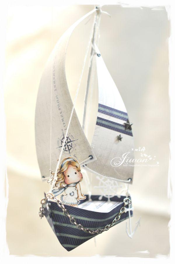 Jiwon's Magnolia Blog: Summer Yacht