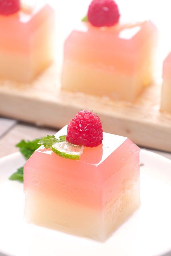 Raspberry Limeade Jello Shots Meatless Makeovers Recipe Gelatin Recipes Vegan Jello Vegan Jello Shots