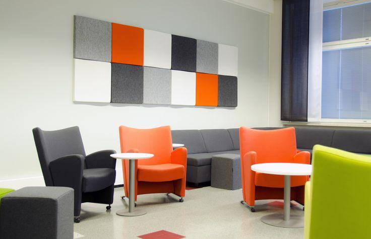 Study environment at our main campus: B5-28, Kuntokatu 3. Photo: © Essi Kannelkoski