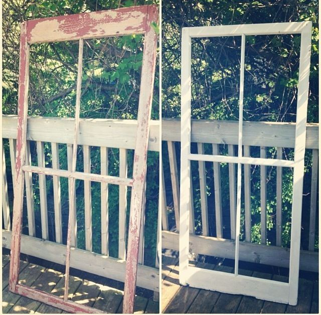 Before and After. Still a work in progress. Can't decide if I want to use chicken wire on the back, or maybe a burlap covered board.