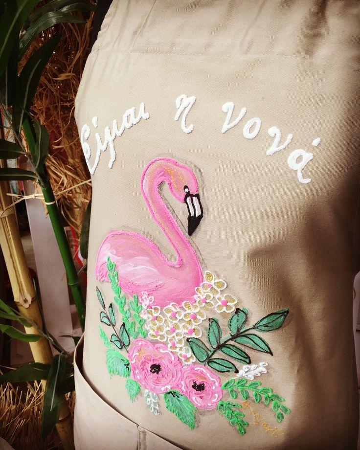 "Aloha!!! Nikolas Ker ""the store"" #aloha #summer #decoration #nikolas_ker #athens #greece #store #shop #flamingo #nona #nonos #ποδιά #vaptisi #baptism"