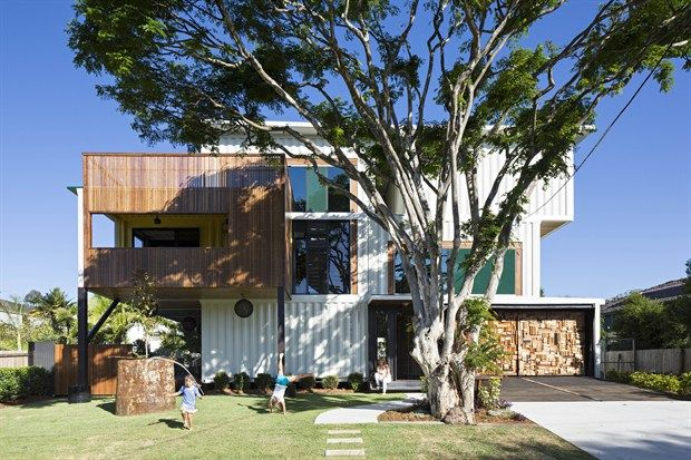 Shipping container house, one of 6 of The Best Homes From Grand Designs Australia - LifeStyle Channel