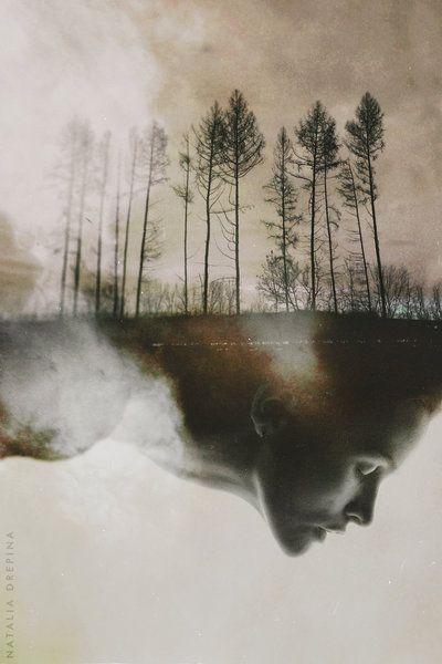 "Self-portrait: ""THE DAY AFTER MY FUNERAL"" by NataliaDrepina.deviantart.com on @deviantART"