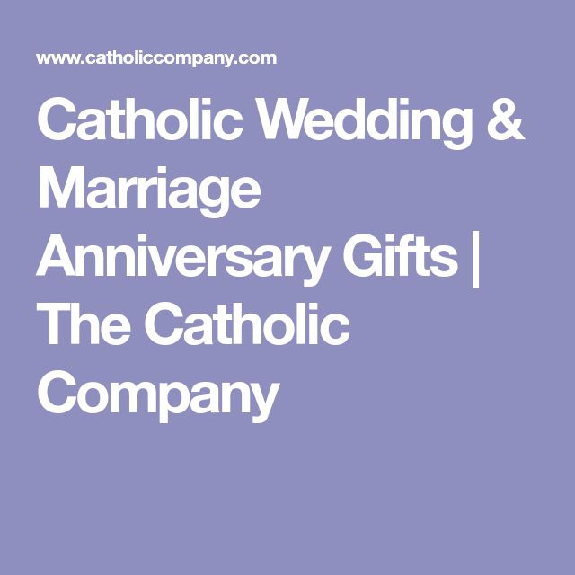 Catholic Wedding & Marriage Anniversary Gifts | The Catholic Company