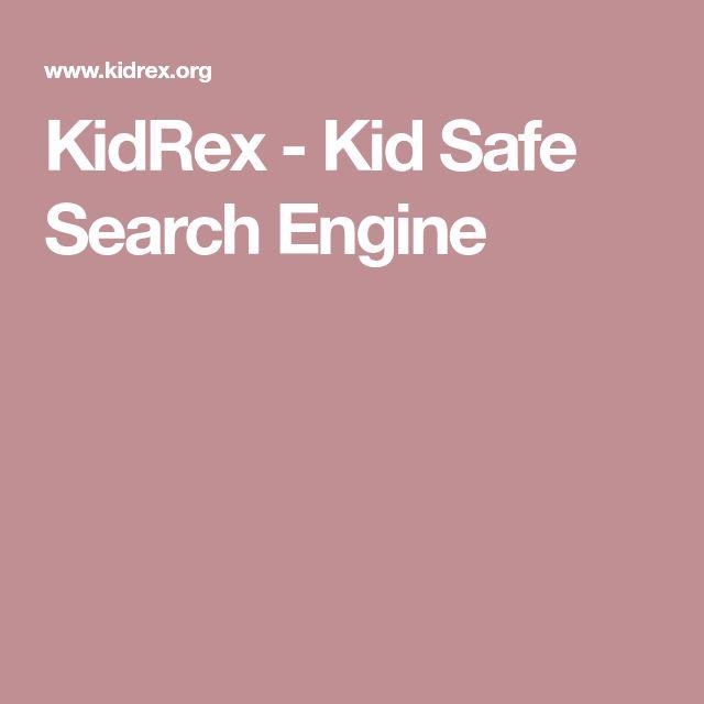 KidRex - Kid Safe Search Engine
