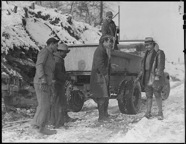 West Virginia Miners | Scott's Run, West Virginia. Unemployed miners, March 1937