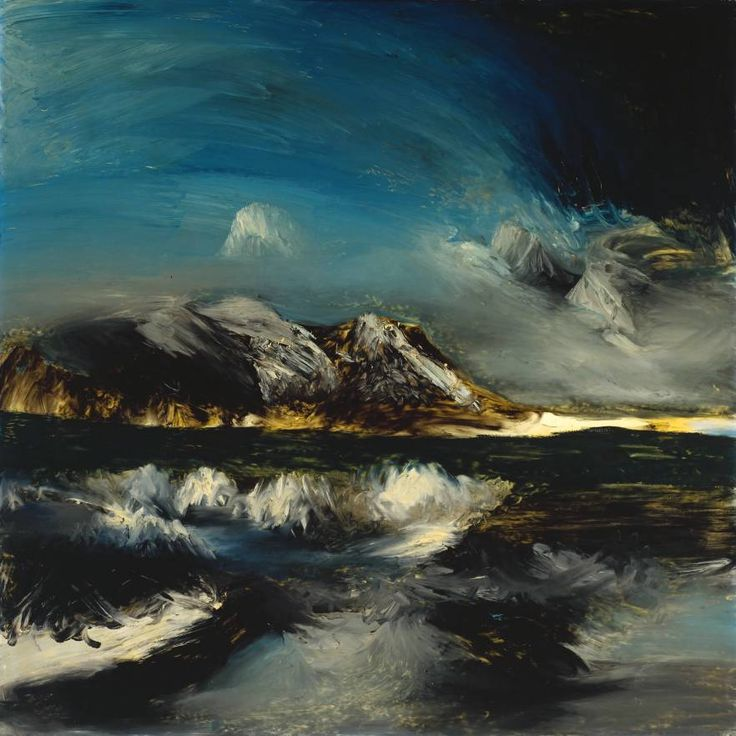 Cave to Canvas, Sidney Nolan, Antarctica, 1964 From the Tate...