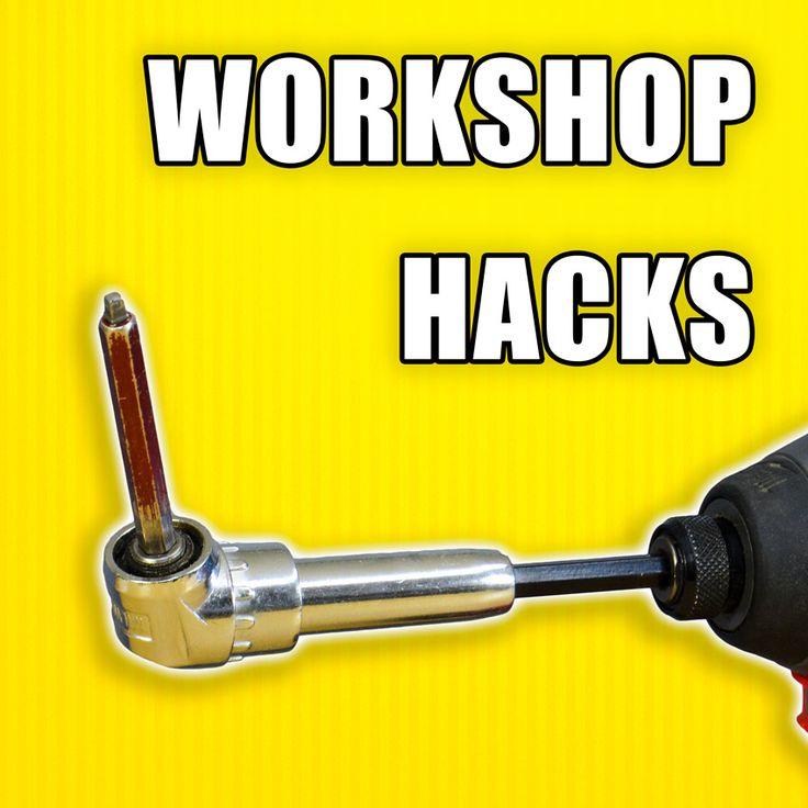 5 Great Life Hacks for your workshop! #lifehack #diy