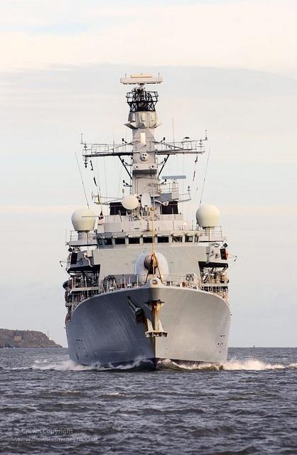 Type 23 Frigate HMS Kent by Defence Images, via Flickr