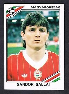 Image result for mexico 86 panini hungary