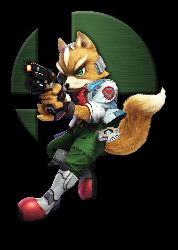 b8572636 Super Smash Bros. Ultimate Emblem Characters Fox McCloud #Displate artwork  by artist