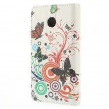 Forro Book Huawei Ascend Y330 Design Naturaleza Flores 56 $ 23.200,00