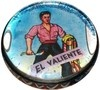 Ohhhh ... he's so brave! LOL! El Valiente from Mexican Loteria. We called in Chalupa growing up.