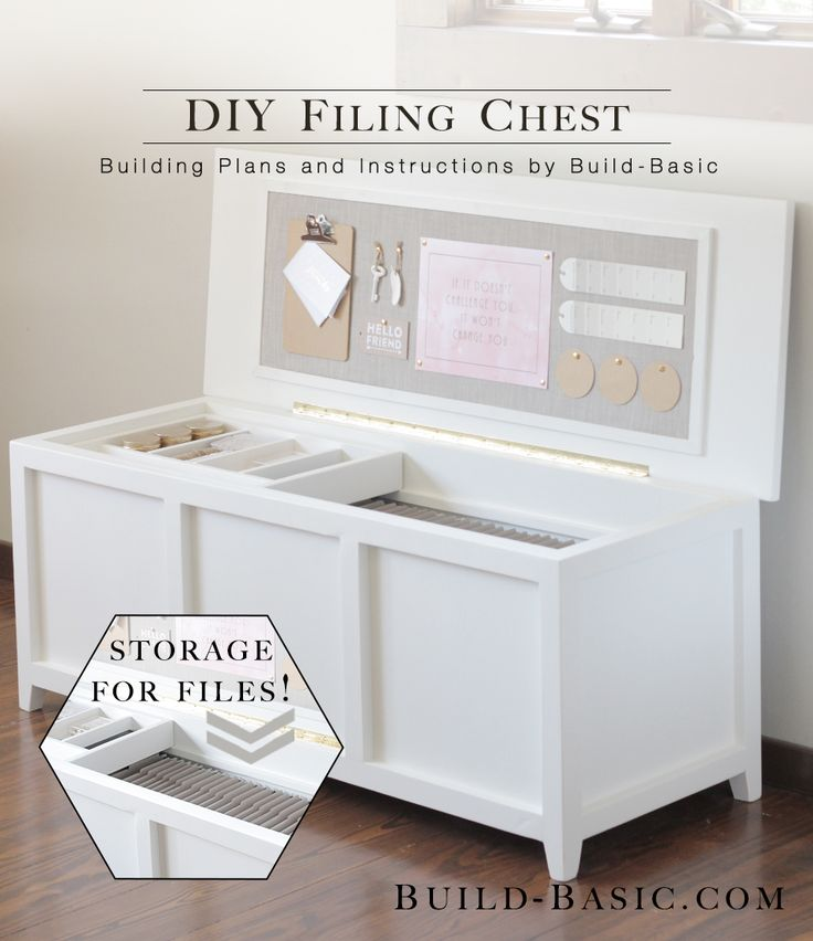 This lovely low chest is the happy replacement for our towering filing cabinet of boxy proportions. With nearly four feet of space for hanging files, this beauty will replace our entire four...