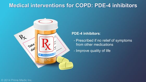 PDE-4 Inhibitors and COPD