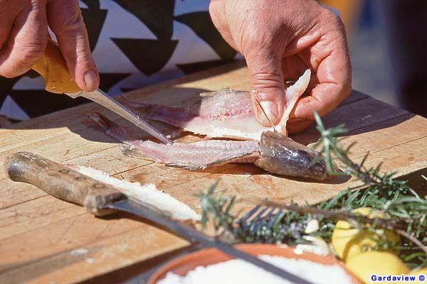 "Typical product of Lake Garda, folk feast ""Limone sul Garda"" Veneto Italia"