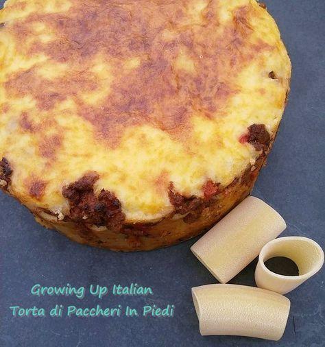 Torta di Paccheri in Piedi (Standing Paccheri Pie) ROSA