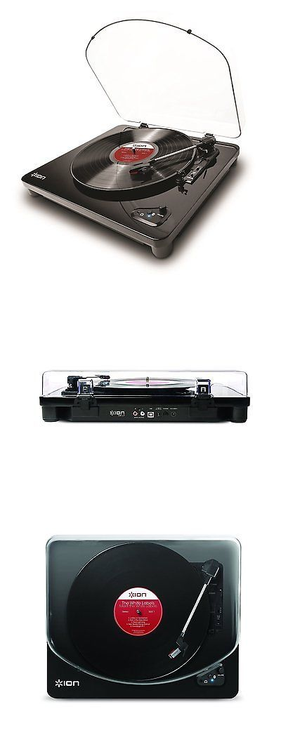Record Players Home Turntables: Ion Audio Air Lp 3-Speed Belt-Drive Bluetooth Turntable -> BUY IT NOW ONLY: $82.99 on eBay!