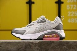 Nike Air Max 200 Pure Platinum / Cool Grey / Sunset Pulse / Weiß AT6175-004 Laufschuhe für Winterfrauen AT6175-004   – Nike Air Max  200 shoes