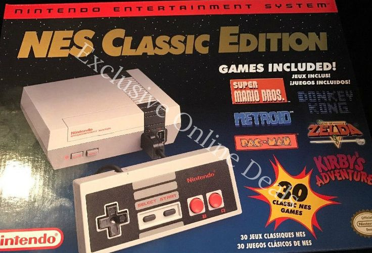 Nintendo NES Classic Edition Console W/ Mini Deluxe Carrying Case  Brand New #Nintendo