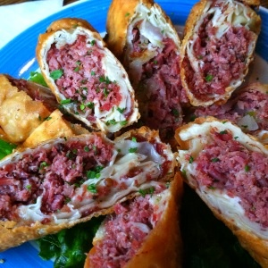 Corned Beef Egg Rolls - Denville, NJ | Been there, Ate that ...