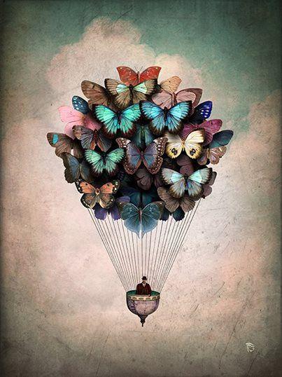 'Dream On' Art by Christian Schloe | #art #christianschloe