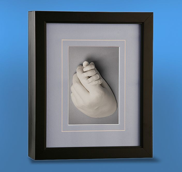 Shadowbox Baby Feet Hand Castings Family Keepsake Pieces Shadow Boxes Silver Fingerprint Charms Bronze Ballerina Feet Castings Ornaments Pregnancy Belly Castings Unforgettable Impressions