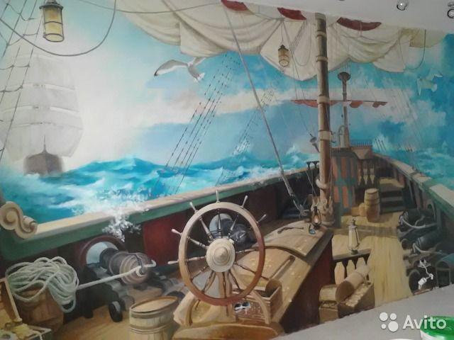 Художественная роспись стен— фотография №1