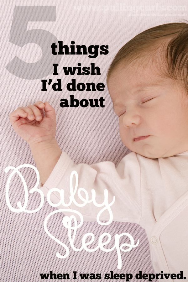 Six years after I'm done having babies NOW I get the epiphany about baby sleep . Let me share it with you!