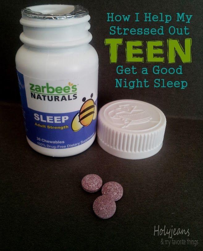 Get Stressed Teen To Sleep 71
