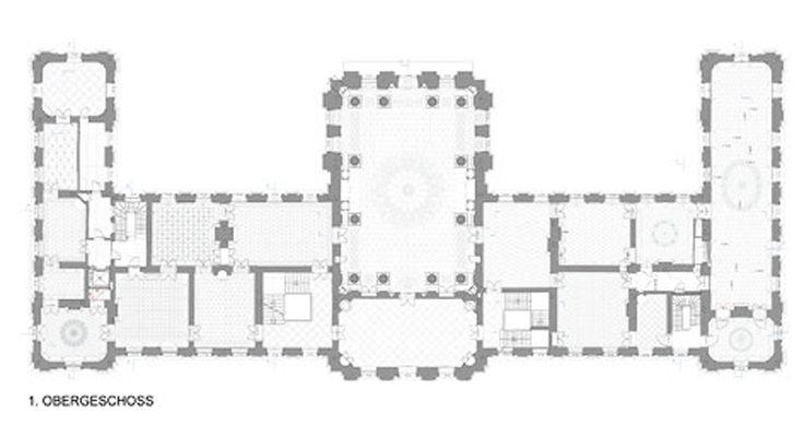 grundriss vom schloss rastatt floor plans t das schloss. Black Bedroom Furniture Sets. Home Design Ideas