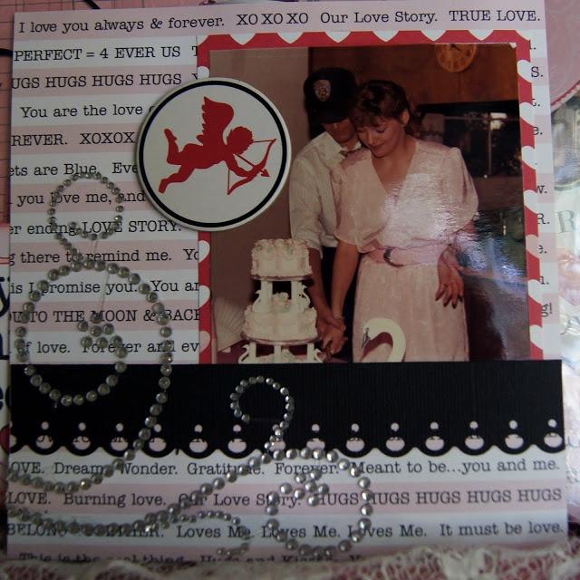 Mini Album by Anita Scroggins  using Teresa Collins papers and embellies