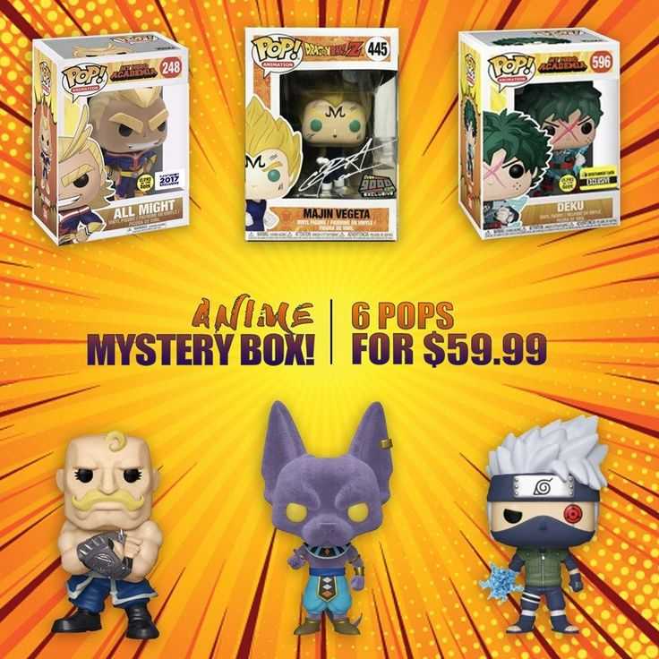 Big apple collectibles funko anime month 2020 mystery