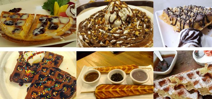 Waffles Boutiques in the city #waffles #food #delicious #dessert #infodeets