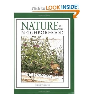 Nature in the Neighborhood by Gordon Morrison - amazing drawings, excellent story and scientific information about nature/animals in North America.