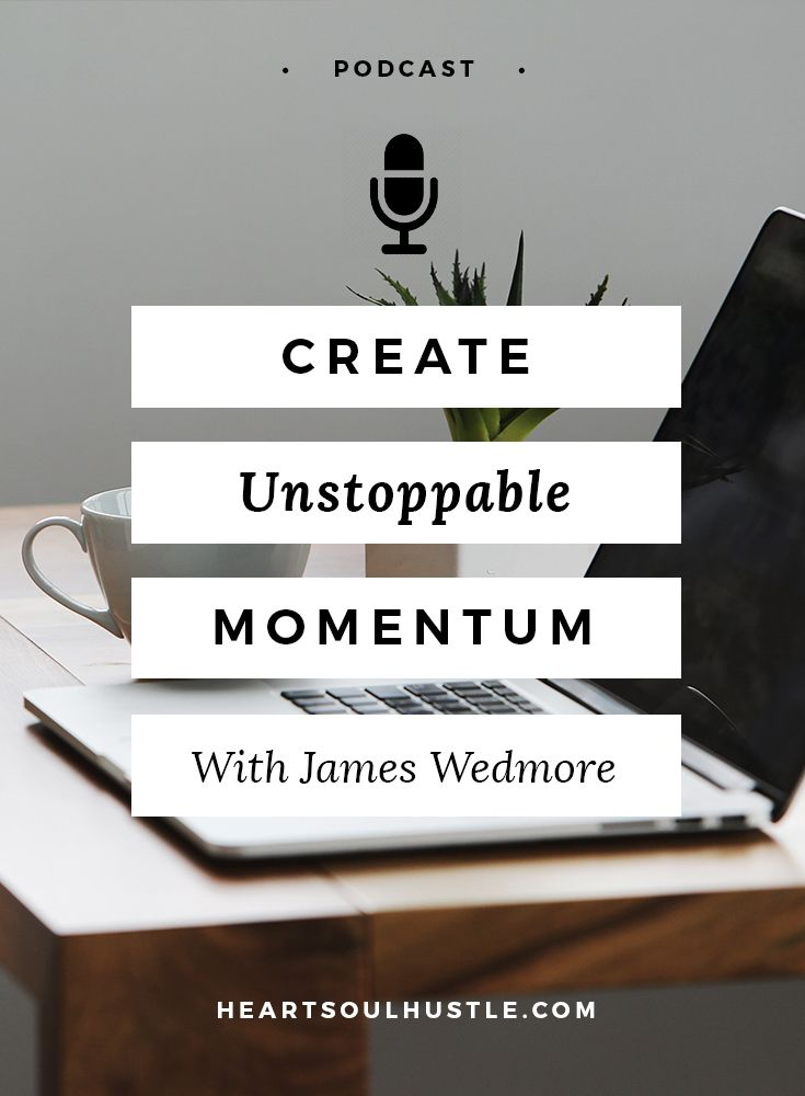 James Wedmore has built a 7-Figure empire packaging up his expertise and helping others do the same. Learn what he says you NEED to do if you wanna make major progress on your projects