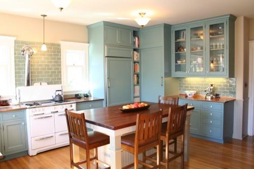 Oakland Kitchen - traditional - kitchen - san francisco - Lorin Hill, Architect
