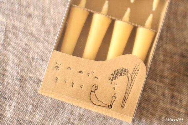 +UGUiSU Blog: JAPANESE TRADITIONAL CANDLES: WA-ROUSOKU