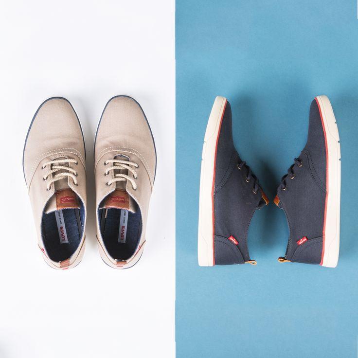 Przywitaj wiosnę w super lekkich, wygodnych butach Levi's® Healdsburg Low Lace Up! Klasyczne męskie półbuty o sportowym wyglądzie, wykończone zgodnie z najnowszymi trendami sezonu, dostępne w dwóch kolorach - jasnobeżowym z czarną lamówką i ciemnogranatowym z czerwoną lamówką oraz białą podeszwą. Pozycja obowiązkowa dla osób ceniących wygodę i klasyczną sportową elegancję na co dzień. #levis #shoes #buty #lekkie #beż #granat #wl15 #wiosnalato