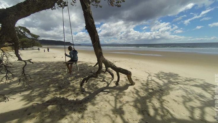 Us in a bus : family travel blog : New Zealand. Otama bay, Coromandel NZ - a childs playground in paradise.  Usinabus