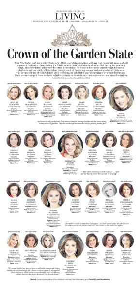 Miss New Jersey Preview #Newspaper #Design #Layout #GraphicDesign