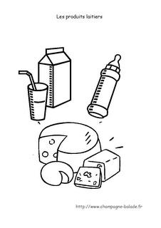 Le coin des petits [Balade en Champagne]: Semaine du goût en maternelle : produits laitiers