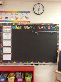 Magnetic Towel Bar used on whiteboard for displaying anchor charts...... and good heading for displaying i can statements