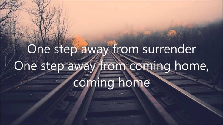 """One Step Away""- by Casting Crowns (Lyrics) - YouTube"