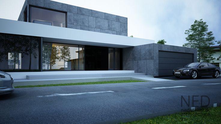 Projekty domov ako je RD HLU sú vhodné na pozemok 10-15árov, kedže sa jedná o rozsiahlu dispozíciu domu s integrovaným bazénom a mnohými detailami.