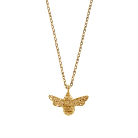 Gold Plated Bee Necklace |  Estella Bartlett