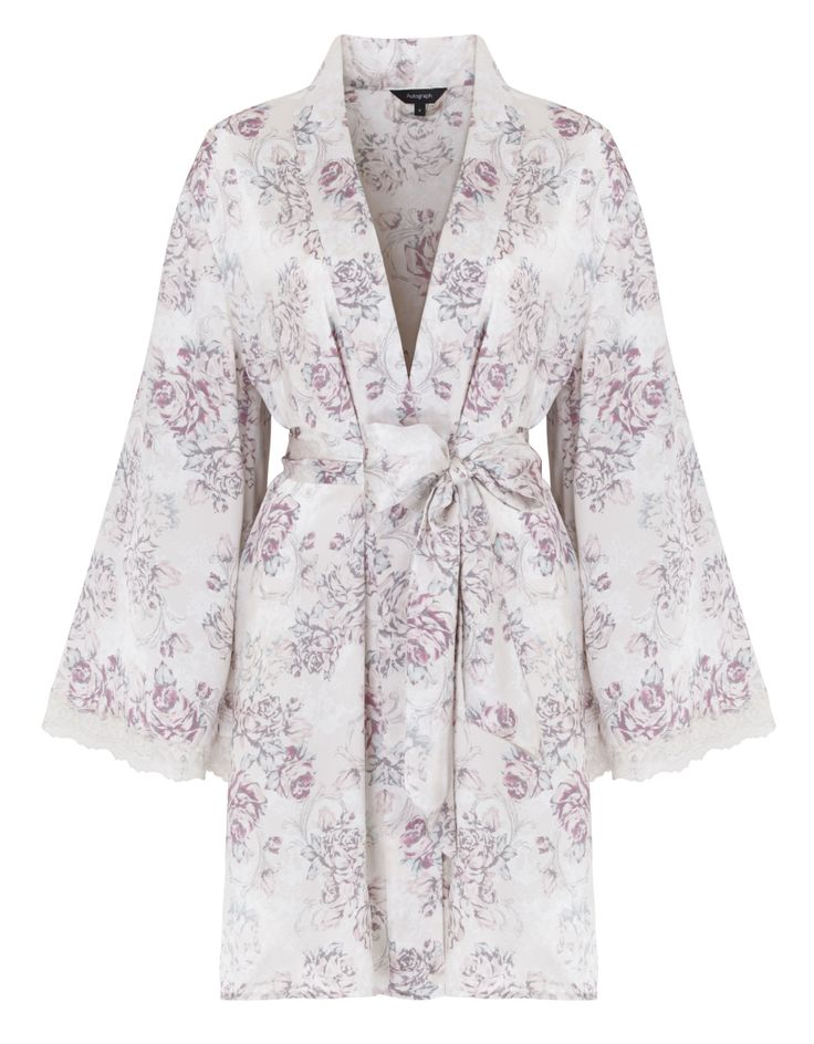Rosie for Autograph Robe £79 This pure silk kimono style robe is far more glam than a terry towelling dressing gown! Thanks Rosie H-W!