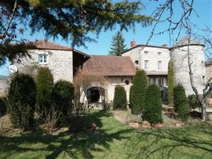 Character property for sale in Saone et Loire comprising of 12C former monastery, renovated chapel, attached winegrower house and independent tower set in 3/4 acre land. #France #House