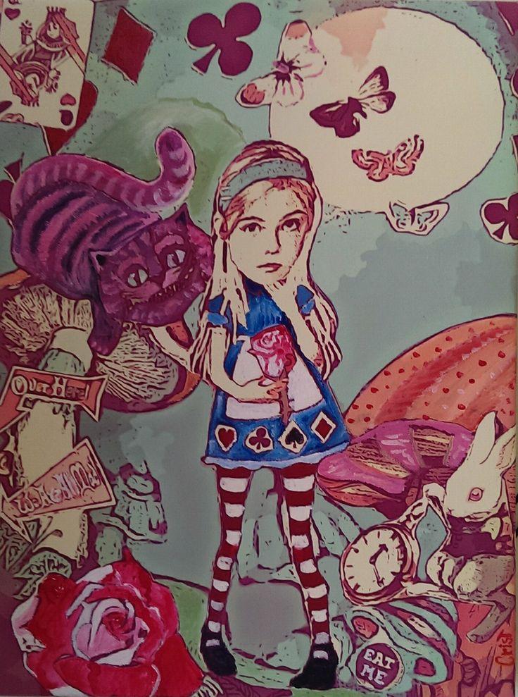 Elle Fanning come Alice
