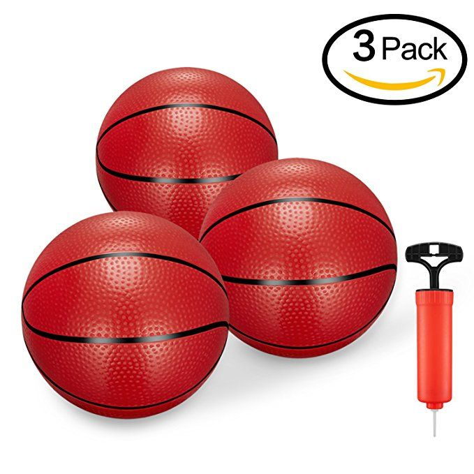 Bestty Toddler Kids Replacement Mini Toy Basketball Rubber Basketball For Kids Teenager6 29 Baske Basketball Mini Basketballs Toddler Basketball Hoop
